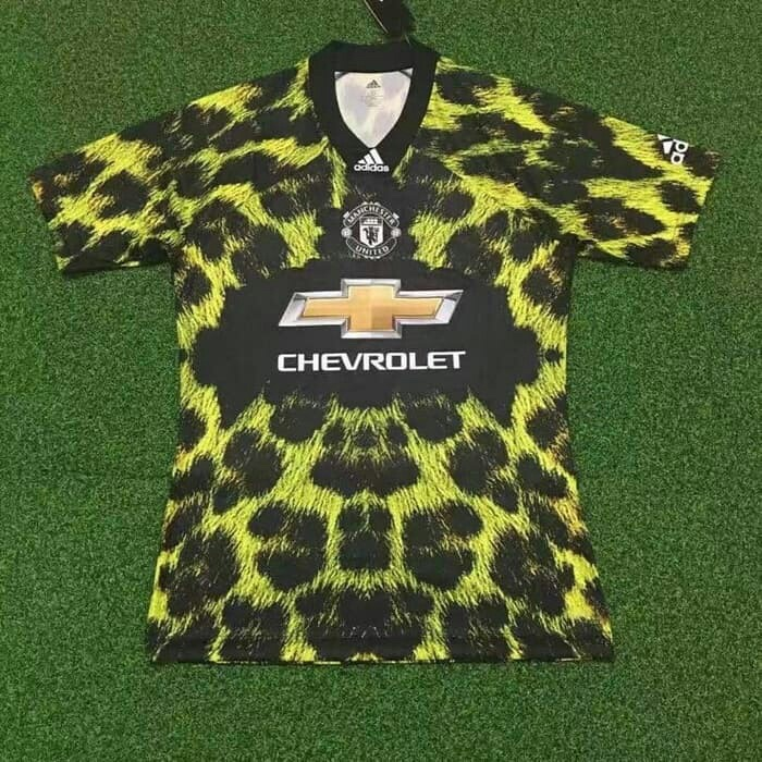 01b63e2638a Jual Jersey Kaos Baju Bola MU Manchester United Ea Sport Home Away ...