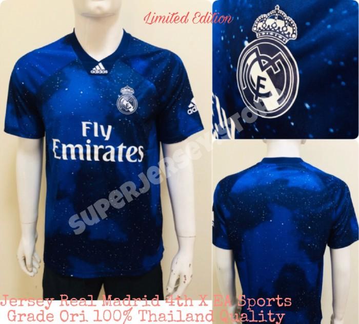 cheap for discount bb17b 29c55 Jual Jersey Bola Real Madrid X EA Sports Limited Edition GO Top Quality -  Kota Bandung - SuperJersey   Tokopedia