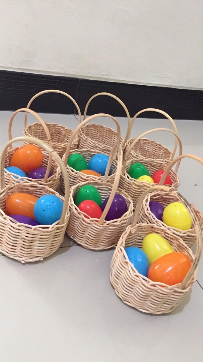 Jual Keranjang Telur Paskah Kecil Kota Bekasi Cecil S Craft