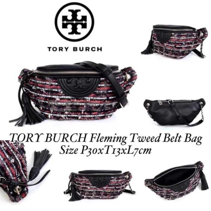46eb088efa92 Jual Tory Burch fleming tweed belt bag - DKI Jakarta - Beautyme ...