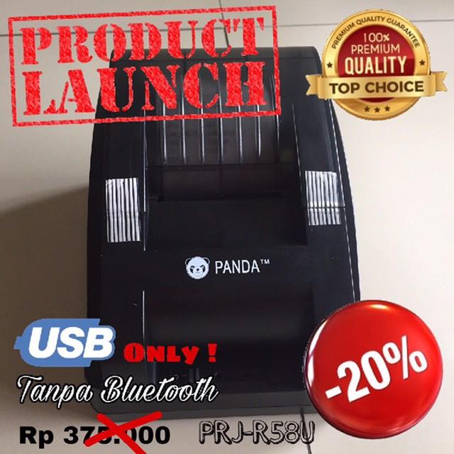 harga 58mm thermal pos printer panda prj-pos58b usb Tokopedia.com