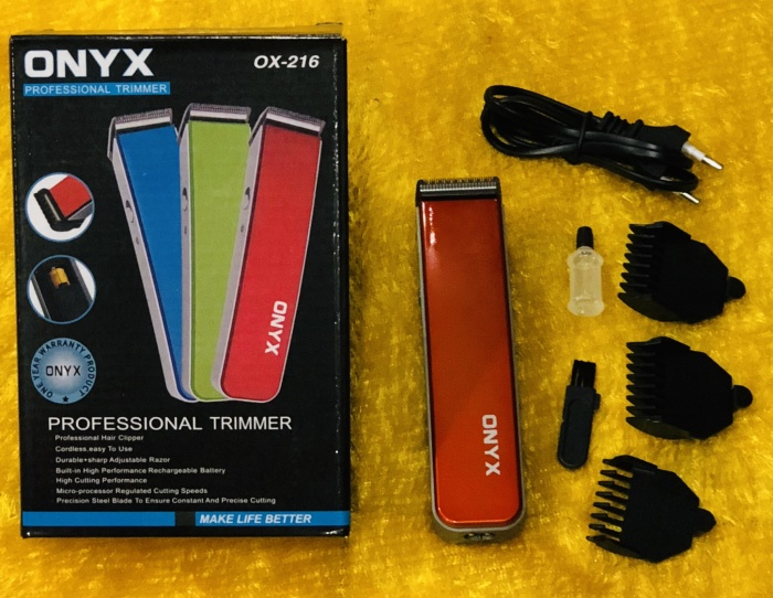 Jual cukuran jenggot kumis   alat cukur rambut cas ONYX OX-216 ... c780358f26