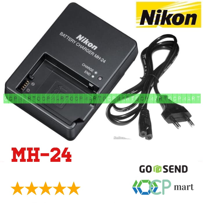 harga Charger nikon mh-24 mh24 mh 24 en-el14 d3100 d3100 d3200 d5100 d5200 Tokopedia.com