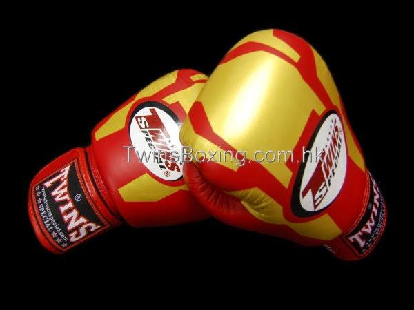 Foto Produk Twins fancy boxing glove iron man 10 oz dari Kicx mma shop