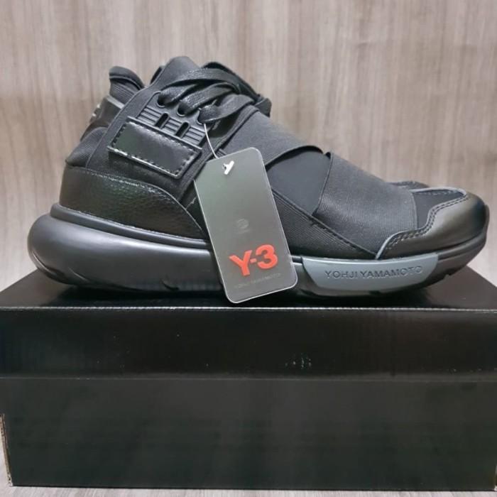 5e205e71d Adidas Y-3 yohji Yamamoto Triple black Premium Original   sepatu pria