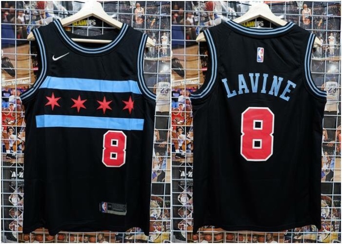 promo code bc3ed a193f Jual Jersey Basket NBA Chicago Bulls City Edition Hitam Zach Lavine 2 -  Kota Batam - RR7 Shop | Tokopedia