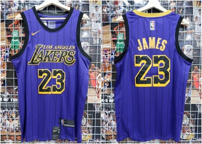sports shoes 9b11d 08426 Jual Jersey Basket NBA Lakers City Edition Ungu Lebron James 2018 2019 -  Kota Batam - RR7 Shop | Tokopedia