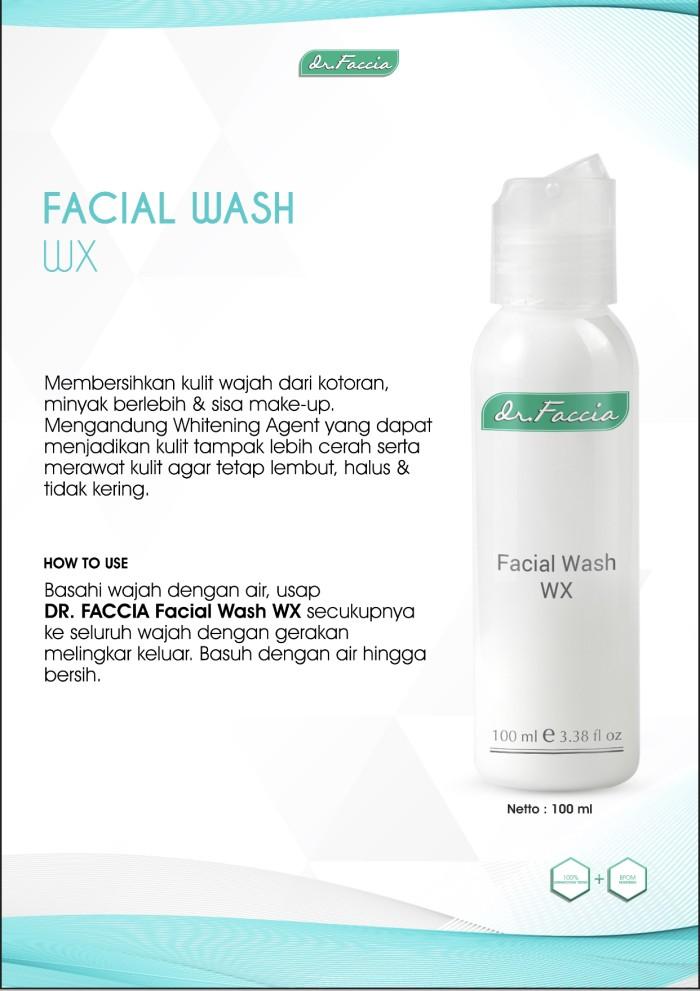 Foto Produk dr Faccia -Facial Wash WX - Sabun Wajah Whitening ( 02 001 004 ) dari Theraskinbest