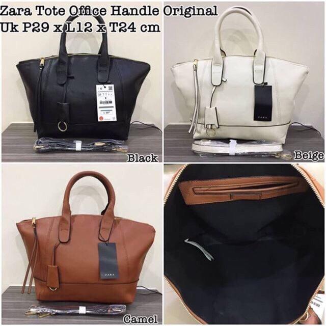 ae39ff32b91 Jual Zara office handle original - Tas zara tote office original ...