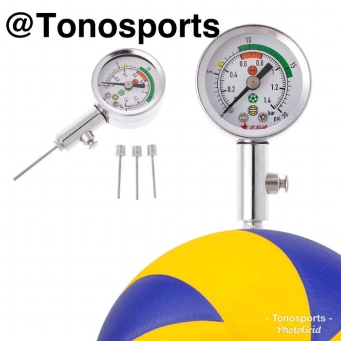 Jual Barometer Alat Pengukur Tekanan Bola Ball Pressure Gauge Kota Depok Tono Sports Tokopedia