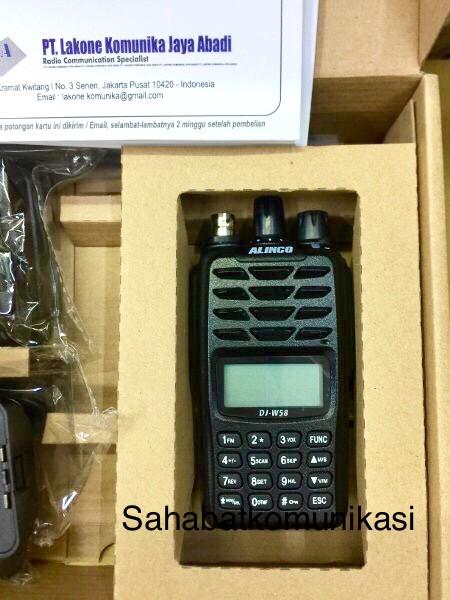Jual HT ALINCO DJ W58 DUALBAND IP 67 ANTI AIR WATERPROOF GARANSI RESMI ORI  - DKI Jakarta - Sahabat Komunikasi   Tokopedia