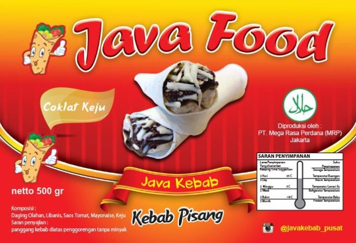 Contoh Banner Makanan Frozen Food - gambar spanduk