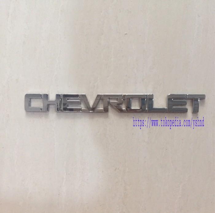 Foto Produk Emblem // logo mobil CHEVROLET dari Yoshindo