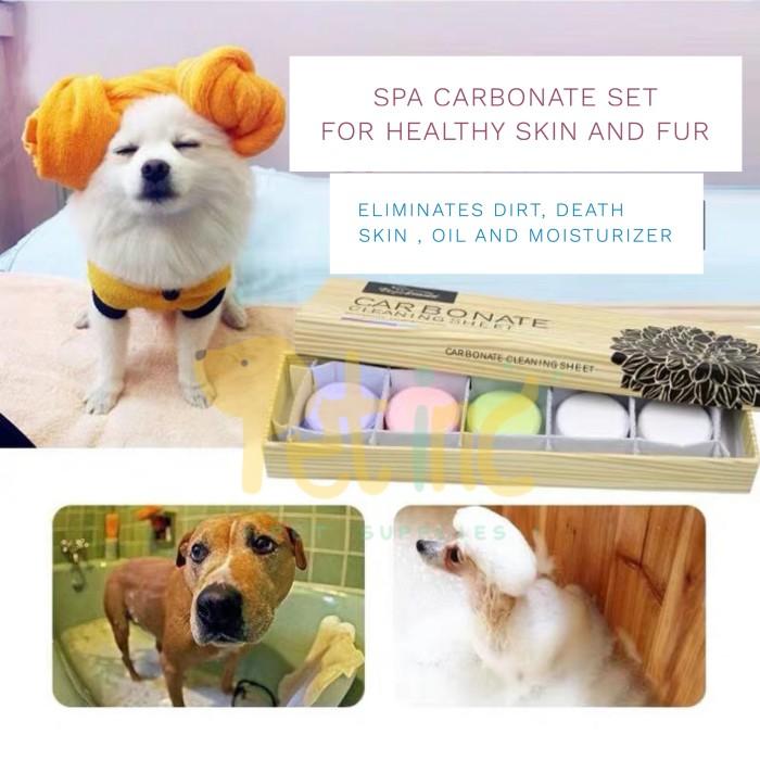 harga Natural carbonate spa for dog and cat Tokopedia.com