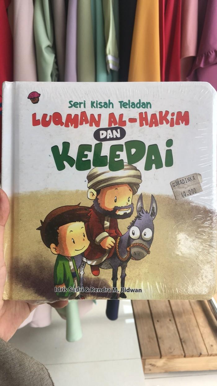 Jual Board Book Seri Kisah Teladan Luqman Al Hakim Dan Keledai Kab Bogor Edukasi Anak Indonesia
