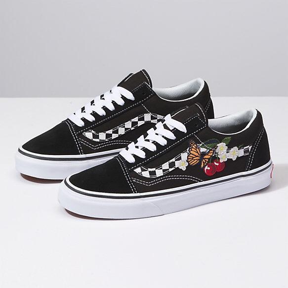 3450e758b8 Jual Sepatu Vans Original - Checker Floral Old Skool W - DKI Jakarta ...
