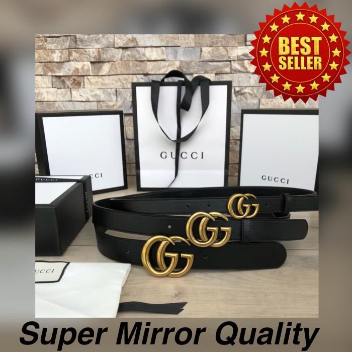 44cf28e7f Jual Gucci Marmont GG Buckle Belt Sabuk/Tali Pinggang Super Mirror ...