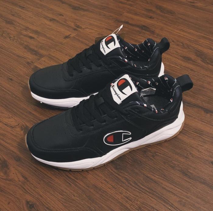 c860752571713 Jual Champion 93 Eighteen Big C Shoes Leather • Colour  Black ...