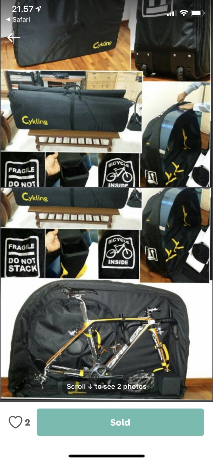 Tourbon Cycling Chain Lock Bag Saddle Pouch Bicycle Bike Tool Carrier Frame Case