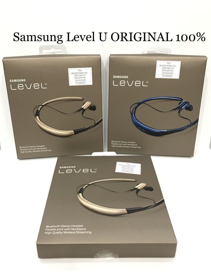 Jual Headset Bluetooth Stereo Samsung Level U Series Original Earphone Jakarta Pusat Procellular Tokopedia