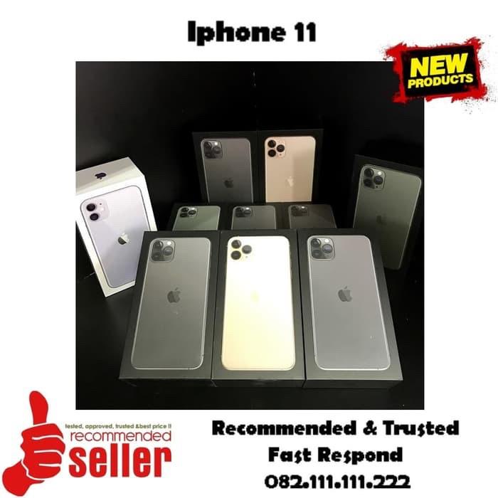 Foto Produk [ Dual Sim ] IPHONE 11 128gb Black White Red Yellow Green Purple dari Toko Keliling