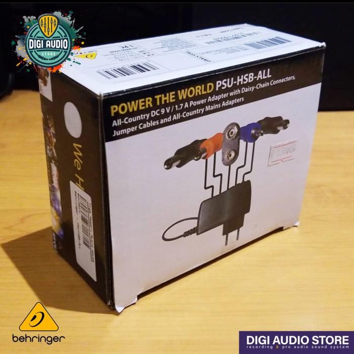 harga Behringer psu-hsb-all adaptor power supply efek pedal stompbox 9v 1.7a Tokopedia.com