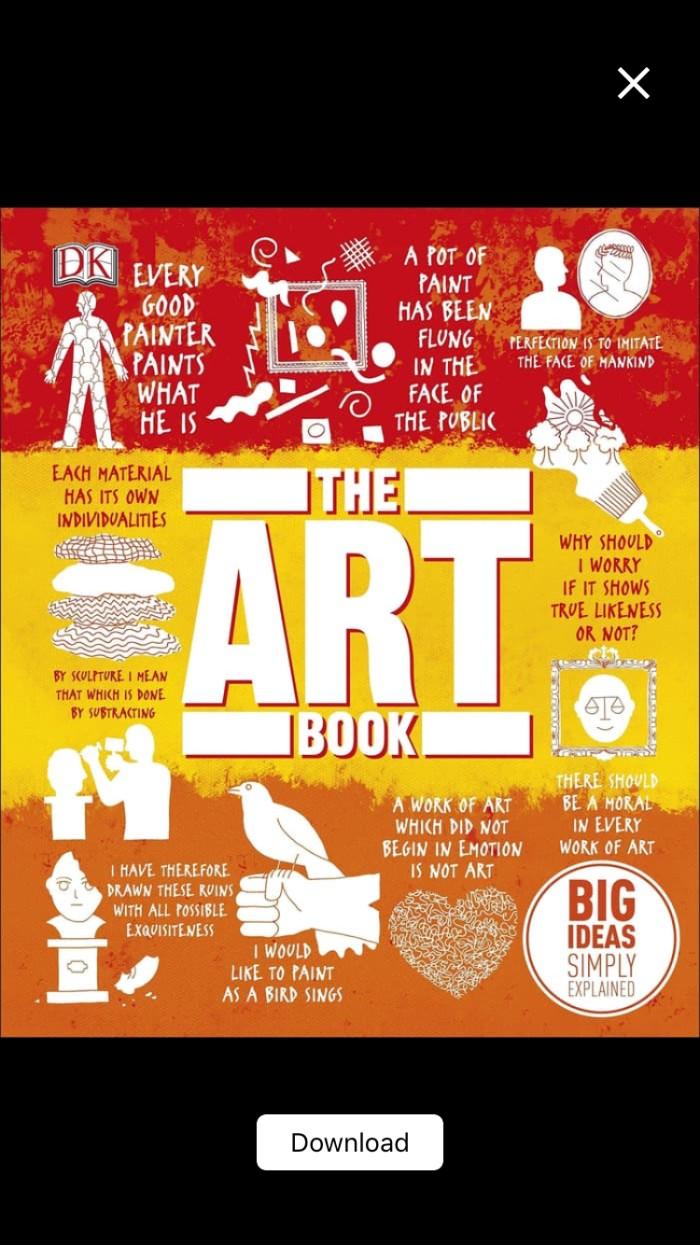 Jual The Art Book Jakarta Pusat Nesyas Shop Tokopedia