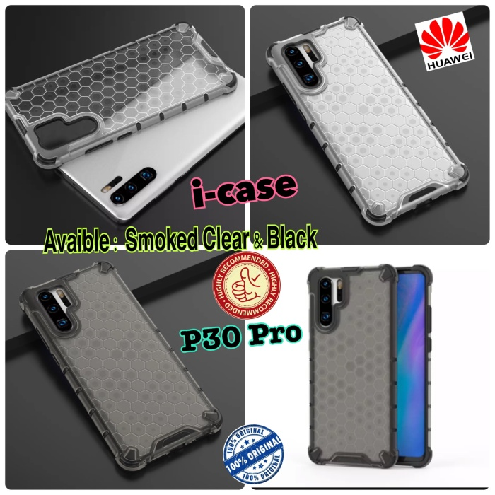 Foto Produk New HoneyComb Armor Soft Case Huawei P30 Pro - S CLEAR dari i-case