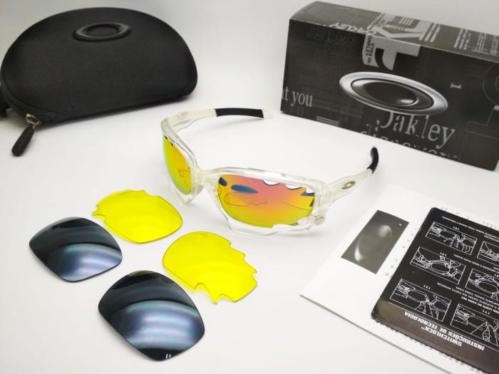 harga Oakley jawbone ( transparan ) kacamata sepeda balap roadbike Tokopedia.com