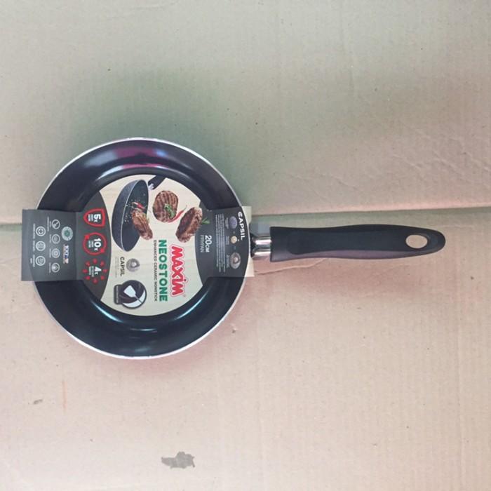 Jual Frypan Neostone Ceramic Maxim 20cm Wajan Penggorengan Lapis