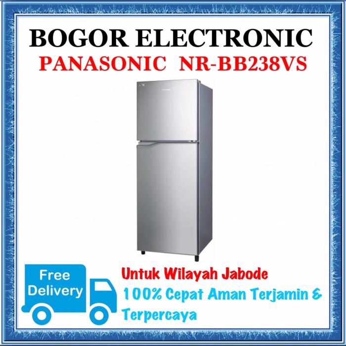 harga Kulkas 2 pintu panasonic   kulkas inverter   nr-bb238vs   nrbb238vs Tokopedia.com