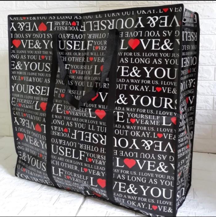 Foto Produk Tas Karung/Tas Belanja Serbaguna/Tas Laundry Ukuran Super Jumbo 70x70 dari sbcollection56