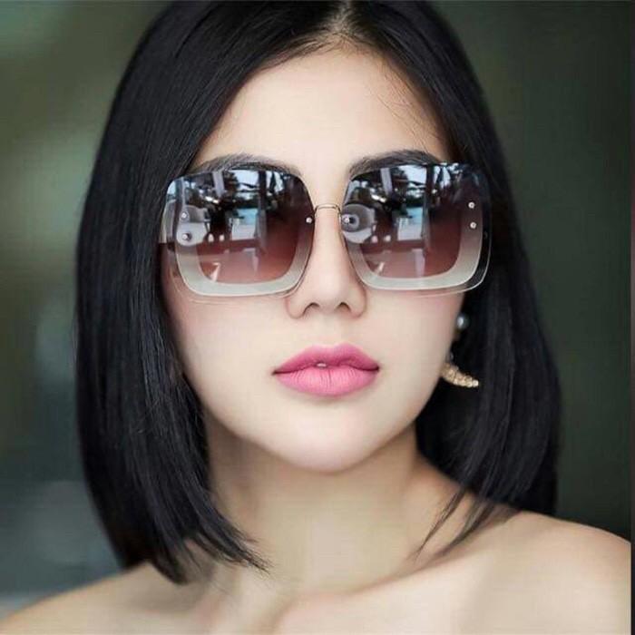 Foto Produk Miu Miu Gliter 8628 Kacamata / Sunglass Wanita + Box Sleting dari Pro Sunglass