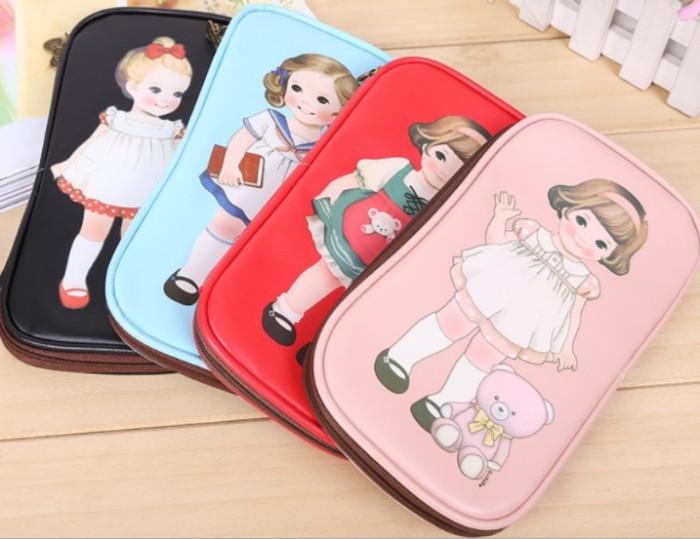 Foto Produk PANACHE Korean Doll Pencil Case Pencil Bag Tempat Pensil dari PANACHE