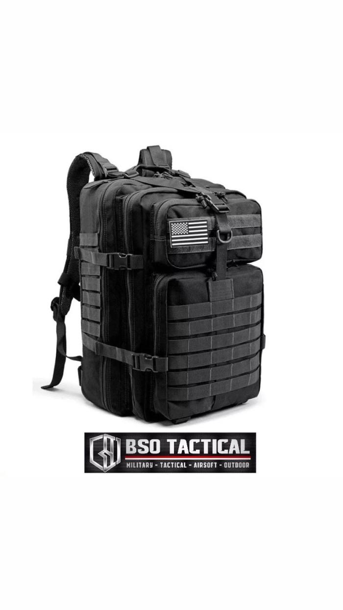 Foto Produk Tas Ransel Tactical 3P New Version Military Outdoor Backpack 45L Impor dari BSO Tactical