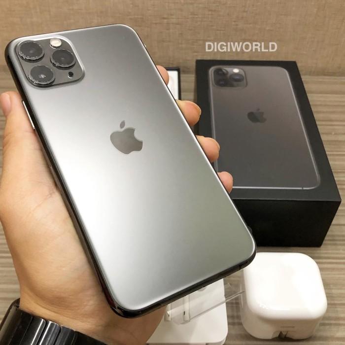 Jual Iphone 11 Pro 512gb Space Gray Second Bekas Seken Fullset Mulus Kota Batam Digiworld Tokopedia