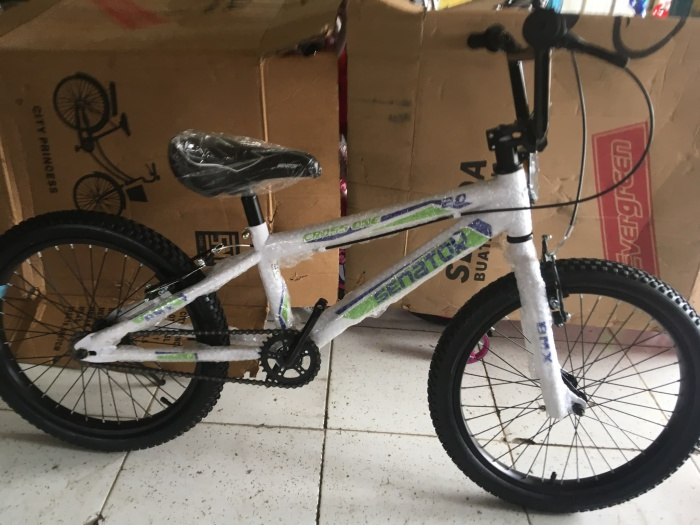 """Foto Produk NEW 2020! SEPEDA BMX Senator 20"""" Inch - Cross One dari Metro Bike Bekasi"""
