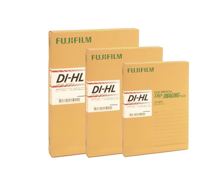 Foto Produk Fuji medical x ray film ronsen DIHL 26x36 / Kertas film rontgen DI-HL dari Gudang Sehat Store