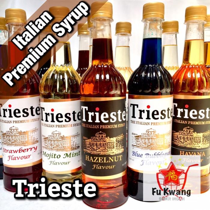 Foto Produk Sirup Trieste Italian Premium Syrup 650 ml dari Fu Kwang Mart
