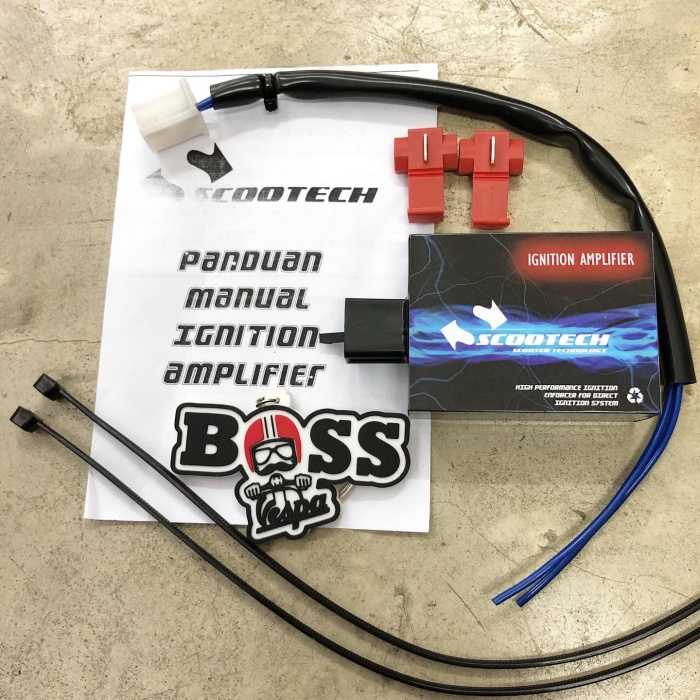 Foto Produk Scootech Ignition Amplifier - Penguat Pengapian Skuter Matic dari Boss Vespa