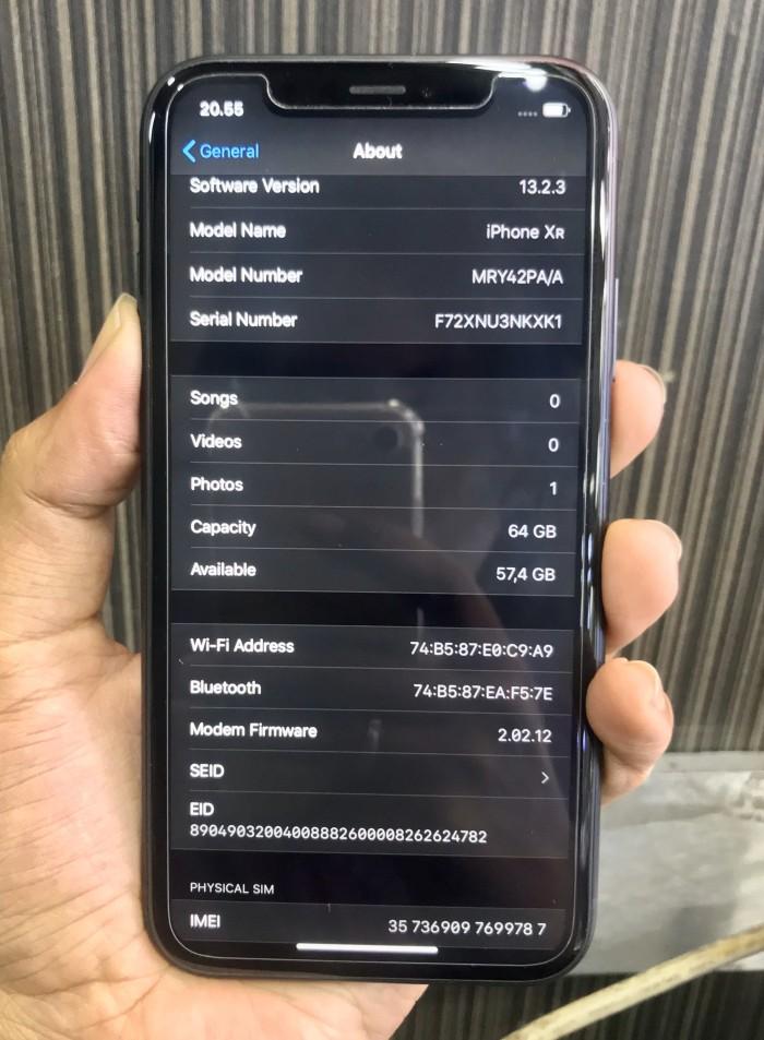 Jual Iphone Xr 64gb Black Ibox Garansi Maret 2020 Kota Bandung F44i Shop Tokopedia