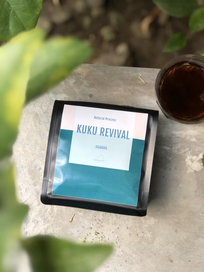 Foto Produk Biji kopi Uganda Kuku Revival Natural 200grm dari KlinikKopi