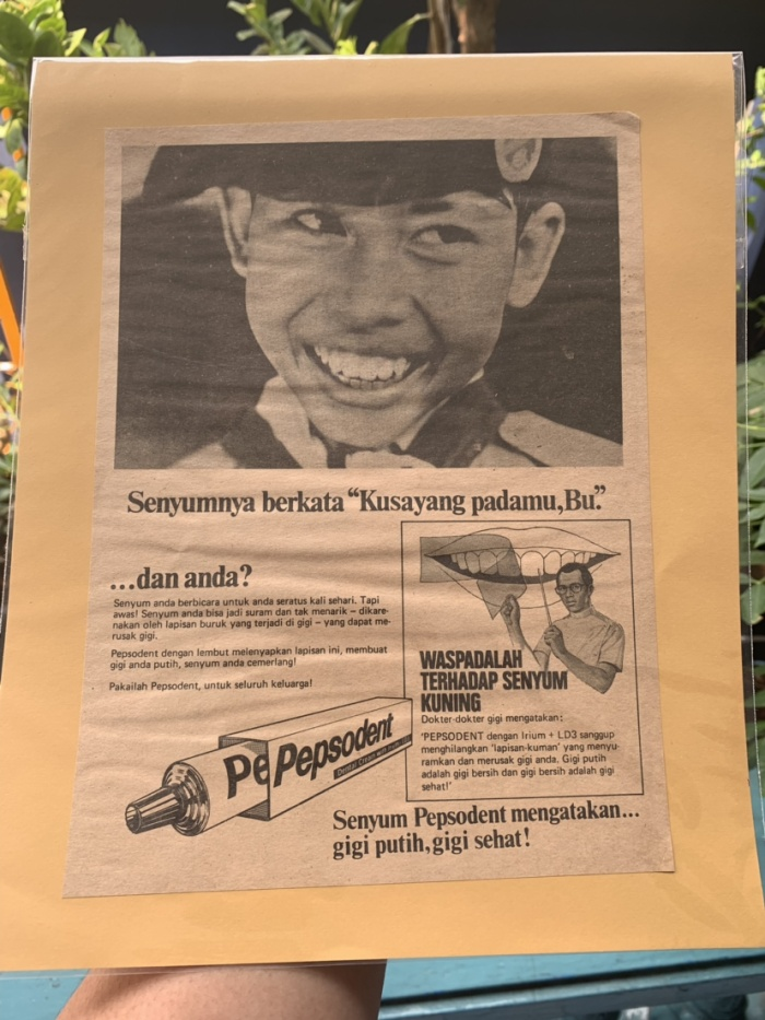 Jual Iklan Pepsodent Jadoel Jakarta Selatan Og Classic Tokopedia
