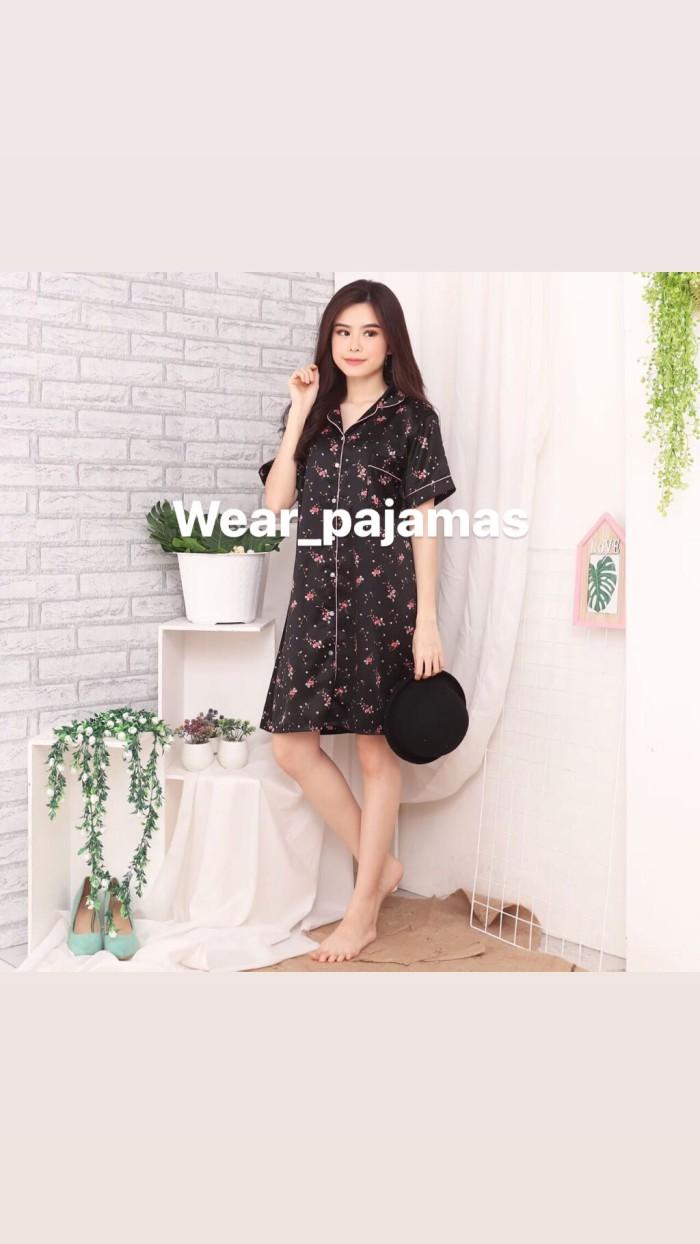 Foto Produk PIYAMA DRESS MOTIF KUALITAS EKSPOR TERMURAH dari Wear Pajamas