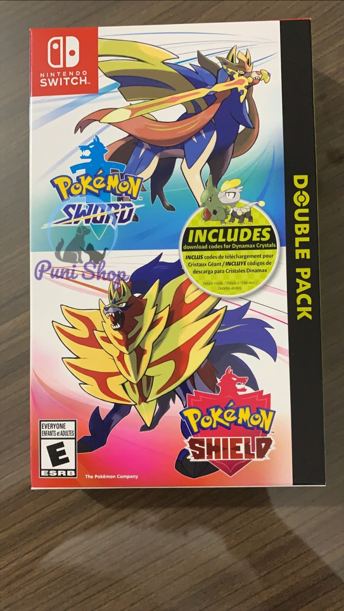 Jual Pokemon Sword And Shield Double Pack Kota Surabaya The Puni Shop