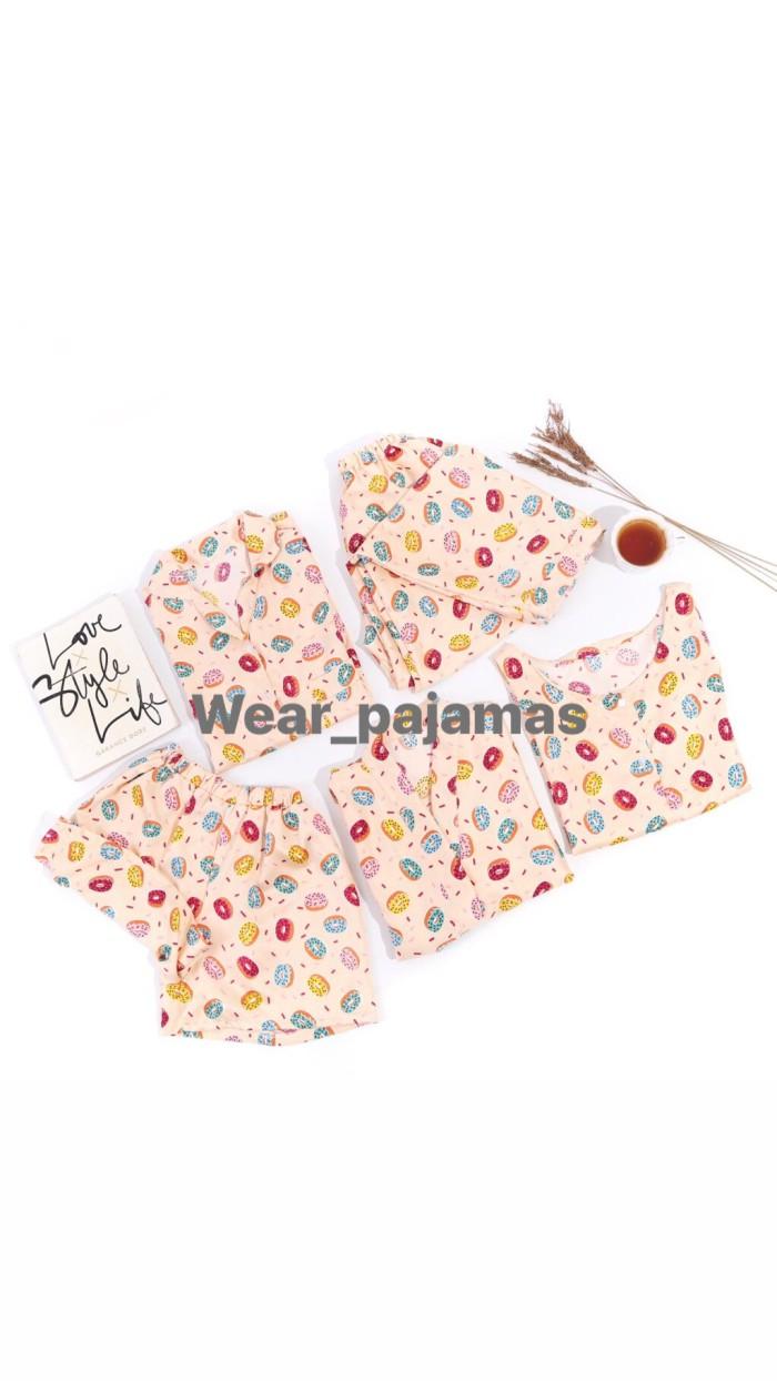 Foto Produk PIYAMA SET EKSPOR TERMURAH — YELLOW dari Wear Pajamas
