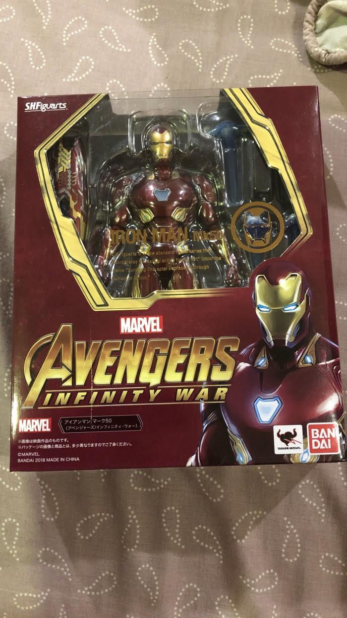 Jual S H Figuarts Iron Man Mk 50 Infinity War Jakarta Selatan BU Hobby