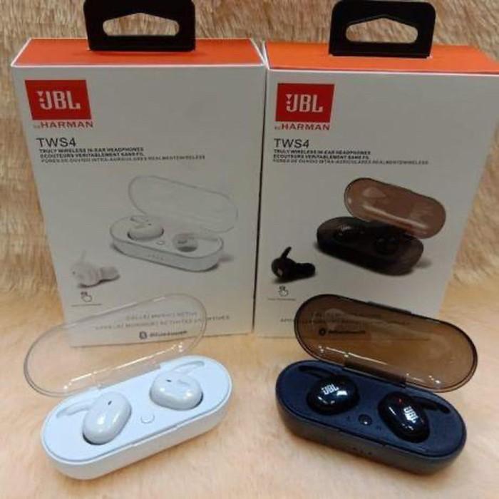 Jual Jbl Tws 4 Headset Bluetooth Wireless Earphone Bluetooth Isi 2pcs L R Jakarta Pusat Original Moon Tokopedia