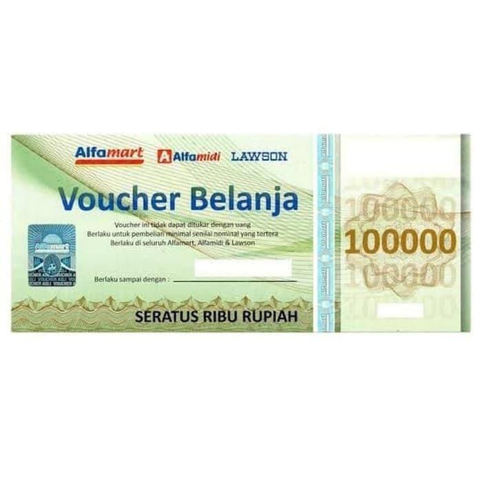 Jual V Alfamart 100k Jakarta Barat Pandaque Tokopedia