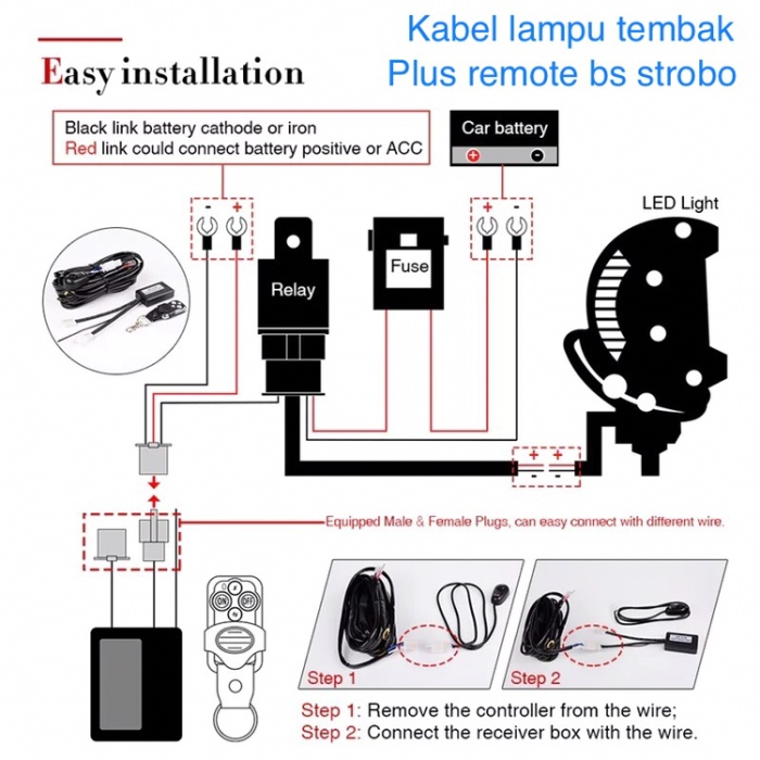 Relay Wiring Diagram For Light Bar from ecs7.tokopedia.net
